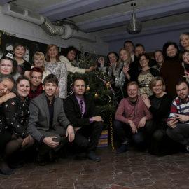 Новогодний корпоратив СПб театра глухих-2018