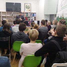 Театр глухих в Библиотеке им. К.А. Тимирязева
